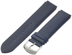 Philip Stein 2-CIN 20mm Leather Calfskin Blue Watch Strap >>> Find out more about the great watch at the image link.