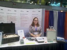 #pidgirl at the #ACSNatlMtg booth in #Boston 2010