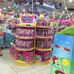 shopkins display in store