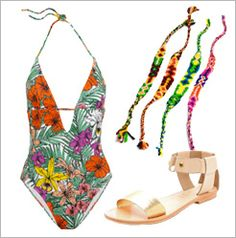 A Groovy Swim Look | The Zoe Report