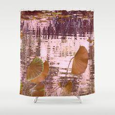 lotus dream Shower Curtain