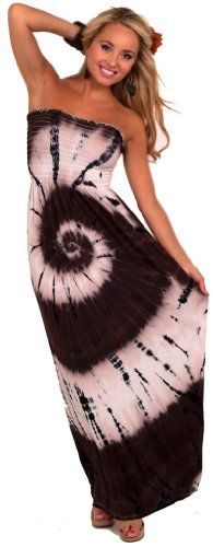 Sexy Flattering New Boho Strapless Long Tube Colorful Batik Spring Maxi Dress for only $42.99 You save: $17.00 (28%)