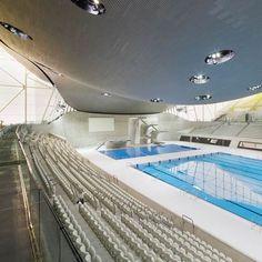 London Aquatics Centre 2012 by Zaha Hadid photographed by Hufton   Crow - Dezeen