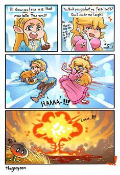 Zelda is so thicc Super Smash Bros Brawl, Nintendo Super Smash Bros, Super Mario Bros, Video Games Funny, Funny Games, Super Smash Ultimate, Nintendo Sega, Gamer Humor, Pokemon