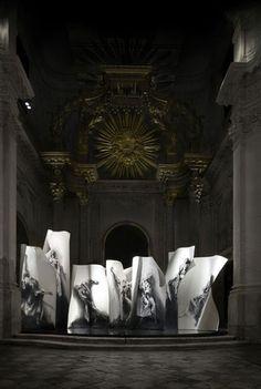 ERNEST PIGNON http://www.widewalls.ch/artist/ernest-pignon-ernest/ #contemporary #art #urbanart