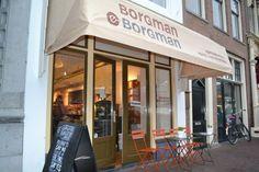 Borgman en Borgman, koffiebranderij, Nieuwe Rijn 41 Leiden