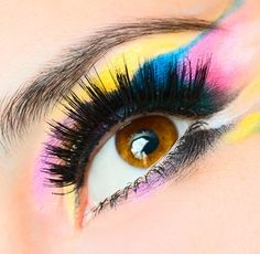 eye makeup for stage | ... are a few beauty ideas for a fresh makeup look that pops with color