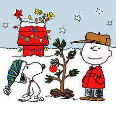 I love Charlie Brown and the Christmas special one of my favorite