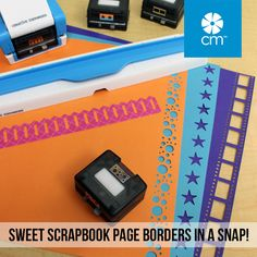 The First, The Original - Creative Memories Original Border Maker System... perfectly awesome borders for your pages in a snap! See all designs here: http://ss1.us/a/8mVsOr4S #CreativeMemories #Scrapbooking