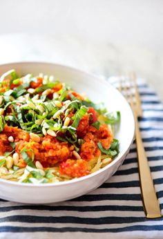 Spaghetti Squash with Marinara