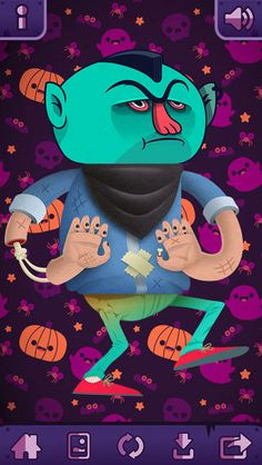 THE MONSTER MATCH - MIX & MATCH MONSTER GAME FOR KIDS - RATED 9+ - FREE #APPS #IPHONE #KIDS #HALLOWEEN