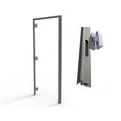 Flush Doors, Door Detail, Clinic Design, Door Trims, Entrance Doors, Prefab, Door Design, Sliding Doors, Bathroom Hooks