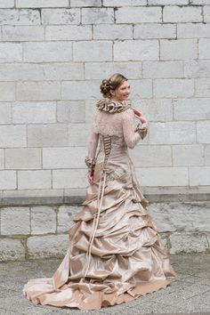 Just in! The official photo's of our new dress 'Calais'. A beautiful festive dress, enriched with endless details. Especially designed to be worn by militia queens, but nevertheless perfectly suitable for other occasions as well!  #brides #love #bridalstar #wedding #inspiration #militia #queen #dress #fashion #festive