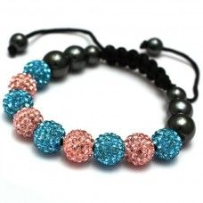 Bubblegum #necklace or #bracelet|crystal Necklaces|#shamballa|completethelookz £69.99