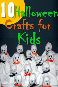I love Halloween! It is such a fun time of year to have kids. Beside eating and serious excess of Halloween candy, doing simple Halloween crafts with my kids it a fun way to get into the Halloween ...