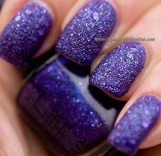 purple #nails #nailpolish #purple