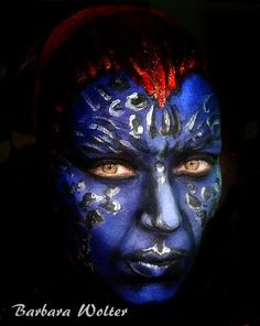 #mystique #maquillaje #artistico  #makeup #artist #fantasia