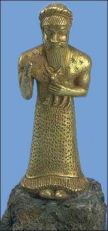 Elamite worshipper, Susa, Iran  12th century BCE