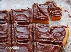PWs Spreads (Chocolate Shortbread Bars)