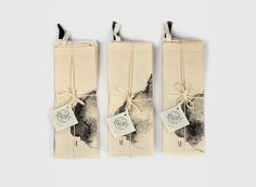 Kitchen towel set of two .100 cotton. Handmade by Swiftextiles, ₪120.00