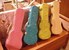 Ukulele case.  I would love this for my Cordoba!