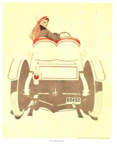 """Coles Phillips - """"One Girl Power"""" from """"A Gallery of Girls"""" (1911)"""
