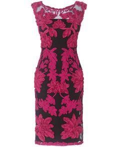 Women's Black/CarmineKitty Tapework Dress