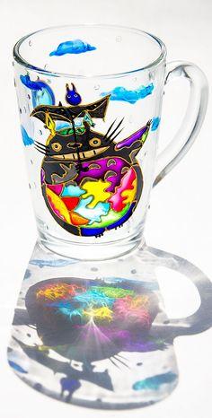 My Neighbor #Totoro Custom Coffee Cup, Book Lover Gift, Hayao #Miyazaki Japan Comic