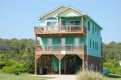 Semi Ocean Front - Nags Head; 4 bedroom with good beach access