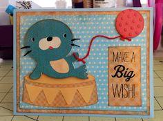 Marilyns Cricut Cards: Make a Big Wish