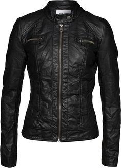 Jacke in Leder-Optik 'Bandit' von ONLY. Schnelle und kostenlose Lieferung. 100 Tage Rückgaberecht.