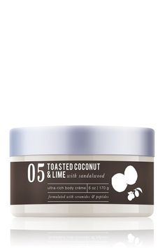 Ultra Rich Body Creme - Toasted Coconut & Lime with Sandalwood by ME Bath on @HauteLook