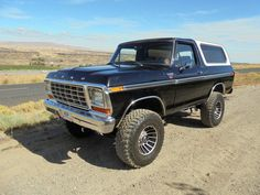 1979 Ford Bronco, 460, 5spd