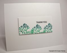 Simplicity: Using Up Scraps and the Use-Your-Stamps Challenge. Kaleidacolor ink pads