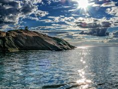 View to island Bla Jungfruns by Hagen Seyring on 500px