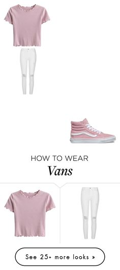 """""""ekw"""" by bvby-bre on Polyvore featuring River Island and Vans"""