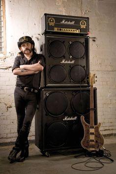 Guitarbage Bass Lemmy rickenback Motorhead Marshall Amp