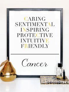 Cancer Description Print
