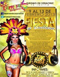 El Carnaval De Veracruz Te Espera Del 9 Al 13 De Febrero 2013 44ba84641989