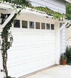 Perfect Pergola Over Garage Door
