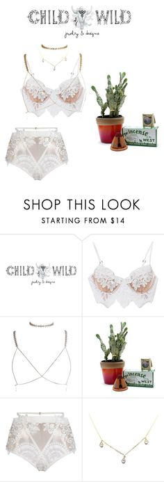 """C H A I N E D"" by child-of-wild ❤ liked on Polyvore featuring Child Of Wild, For Love & Lemons and Luv Aj"
