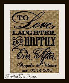 A personal favorite from my Etsy shop https://www.etsy.com/listing/213483322/wedding-gift-anniversary-gift-to
