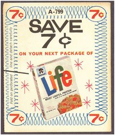 #Vintage Life cereal coupon