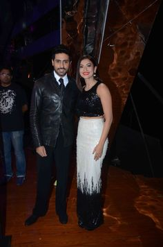 Abhishek Bachchan and Gauhar Khan on India's Raw Star.