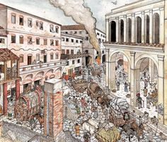 Due to living conditions, and the Roman hot weather, fires were common among the…