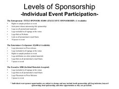 Image Result For Sponsorship Proposal Template  Solicitation