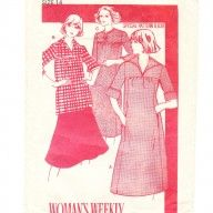 Lovely loose fitting smock type top and dress from the 1970s- vintage sewing pattern