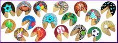 Bar Mitzvah Fortune Cookies -- such a cute idea!