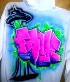 Airbrush Clothes for Dance Crews and Dance Studios from Spray Tees. #Airbrush #DanceWear #AirbrushClothes #Fashion