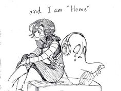 Undertale fanart (Disclaimer, I don't own anything, unknown artist) #Napstablook #Mettaton #home